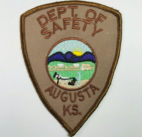 Augusta Department of Safety Police Fire EMS Kansas Patch