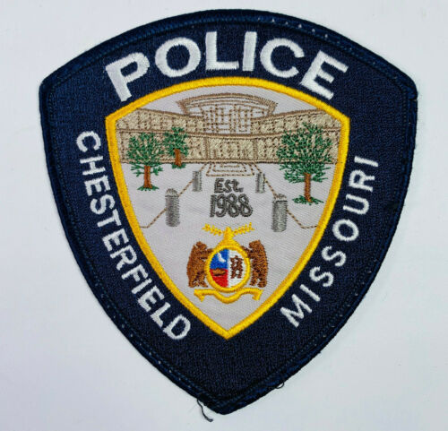 Chesterfield Police Missouri Patch (A1)