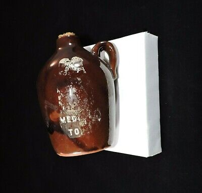 Old Japan Small Whiskey Jug Whisky Moonshine Vintage EMPTY