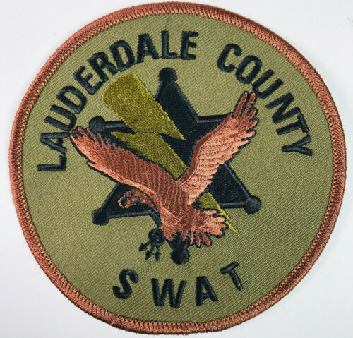 Lauderdale County SWAT Mississippi Police Sheriff Tactical Patch