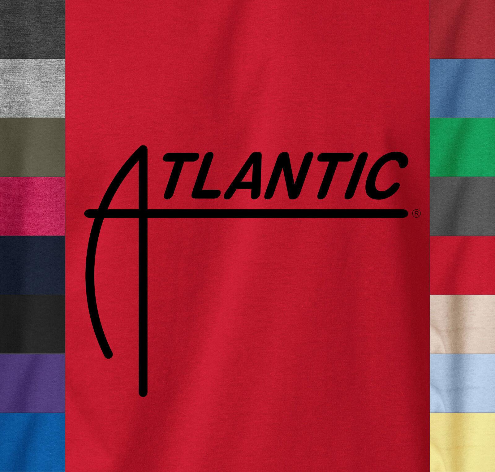 ATLANTIC Records T-Shirt Vintage Retro Jazz Soul Radio Label