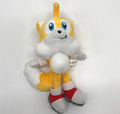 Sonic the Hedgehog Plush Tails the Fox Soft Toy Stuffed Animal Teddy 10