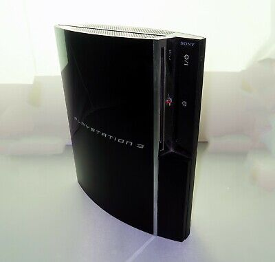 🛑 Sony PlayStation PS3 Fat 60GB Backwards PS2 Compatible CECHA01 V4.66