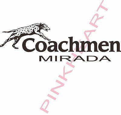 Coachmen Mirada Decal RV sticker graphics trailer camper rv mirada