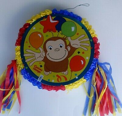 Curious George Pinata~ Birthday Party  Game ..FREE SHIPPING
