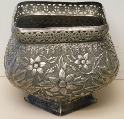 Vintage large sterling silver vessel 588g