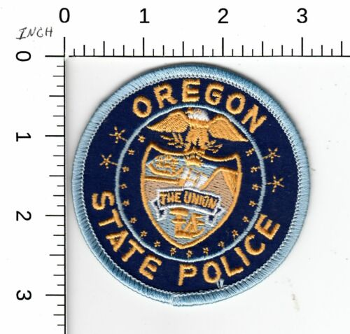 OREGON STATE POLICE PATCH BLU OR