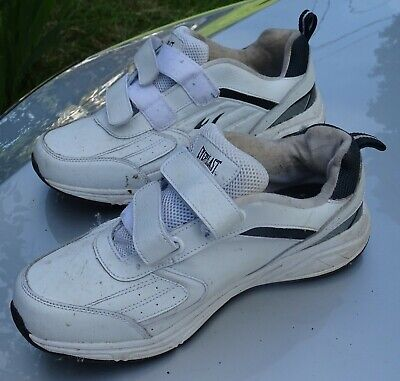 White Everlast Sport Men's Mobile Leather Extra Wide Sneaker 11 W Sneakers