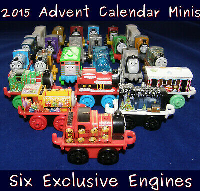 Thomas the Train 24 MINIS 2015 Advent Calendar 6 Unique Christmas Friends Tommy