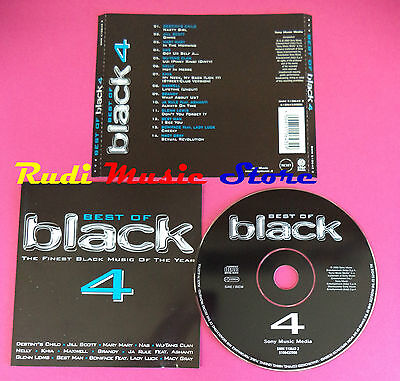 CD BEST OF BLACK 4 Compilation NAS WU TANG MACY GRAY JA RULE no mc vhs dvd