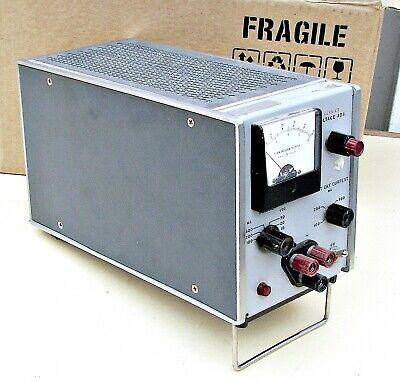 Vintage Hp Venier 723a Agilent Dc Power Supply