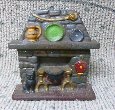 Antique Cast Iron Hearth Door Stop National