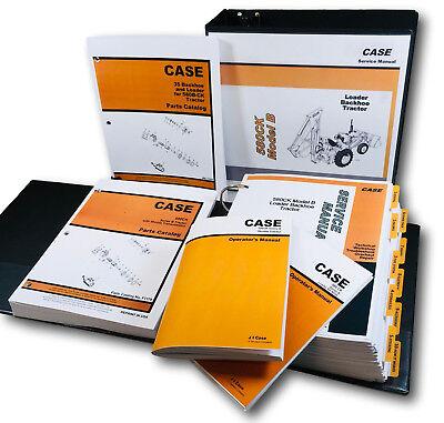 Case 580b 580ck B Shuttle Tractor Loader Backhoe Service Parts Operators Manual