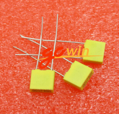 20PCS 100NJ100 correction capacitors 100V 100NF 0.1UF capacitor 5mm pitch