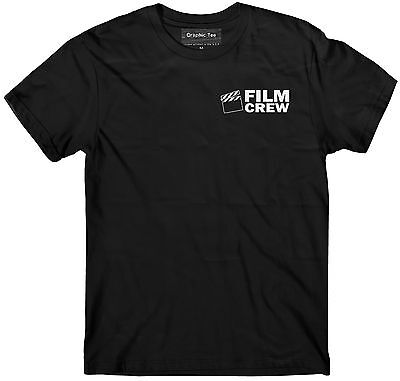 Glowing Products (FILM CREW T-shirt GLOW IN THE DARK, Production crew, Movie crew, Staff)