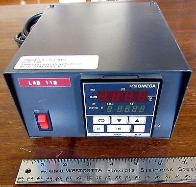 Omega Cn 382 Rtd Cn380 Digital Temperature Pi100 Controller Platinum Made In Usa