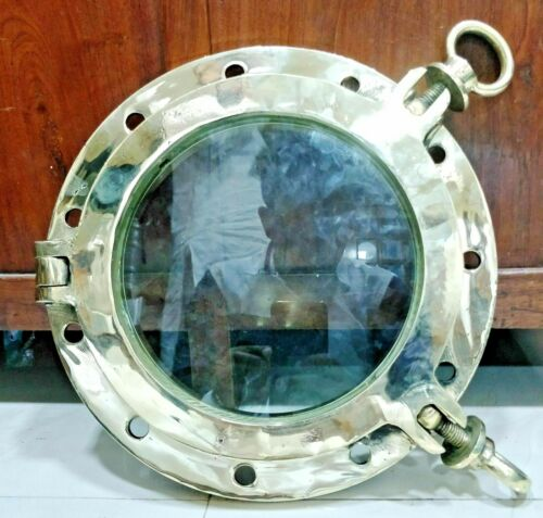 NEW NAUTICAL VINTAGE STYLE  BRASS SHIP  PORTHOLE ROUND WINDOW 1 PCS