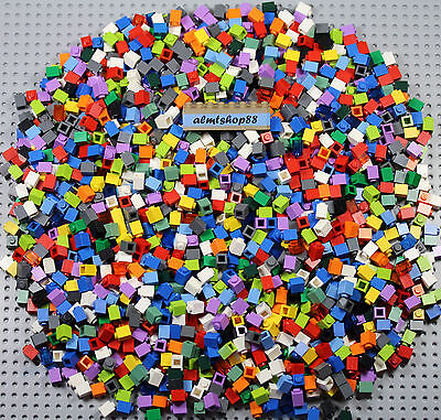 LEGO - 1x1 Basic Bricks Assorted Classic Trans Colors Mosaic Bulk Lot 3005 Pound