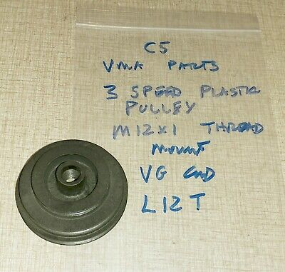 Emco Compact 5 Lathe Vma Parts 3 Speed Plastic Pulley M12 X 1 Thread Mount L12t