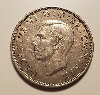 1942 British Half Crown Silver
