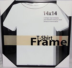 shirt frame 14 x 14 display t shirts as art ebay