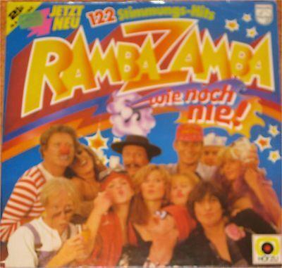 Ramba Zamba, 122 Stimmungs-Hits, wie noch nie, VG+/EX 2  LP (6764)