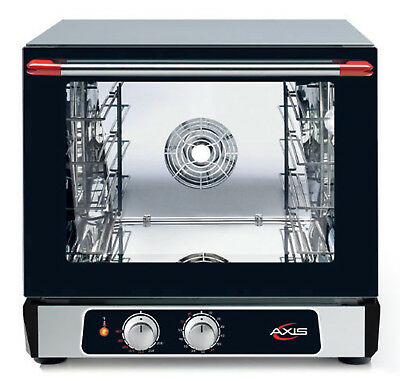 Axis Ax-514 Convection Oven 12 Size Countertop Manual Controls