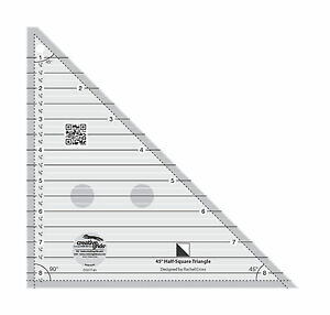 Creative Grids 45 Degree Half Square Triangle Sewing And