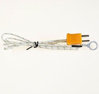 Industec 10mm-38 Head Bolt Temperature Type K Thermocouple Sensor Mini Plug