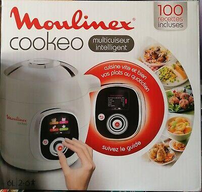 Moulinex Cookeo Cucina Multicottura Multicooker Bianco CE706121 pari al nuovo