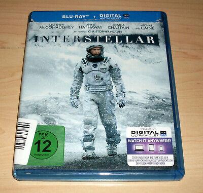 Blu Ray Film - Interstellar - Christopher Nolan - Matthew McConaughey -
