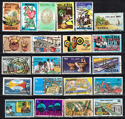 Nigeria African Country stamps lot 1960s