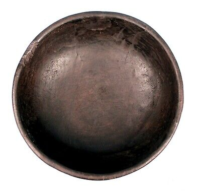 Art African Collection - Antique Dish Wooden Atié - Coin Custom - 32 x 31 CMS