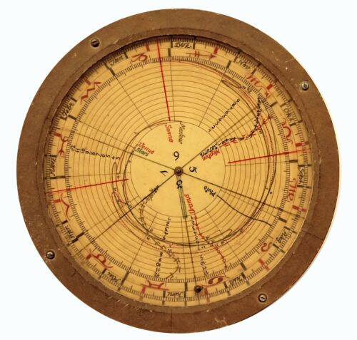 1953 Very Rare Hand made Astrological star finder and planet finder
