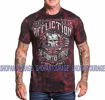 Affliction Chris Kyle Special Ops A18314 New Men S Rusted Red T Shirt
