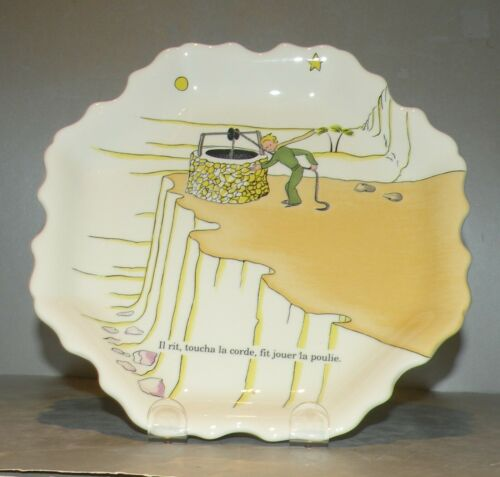 Gien, Wall Plate petit Prince ( Little Prince )  Verry rare