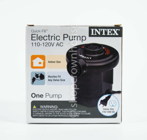Intex Quick-Fill AC Electric Air Pump 110-120 Volt Max Infla