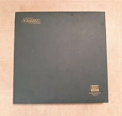 Vintage 1977 Scrabble Deluxe Edition Selchow & Righter - 100% Complete
