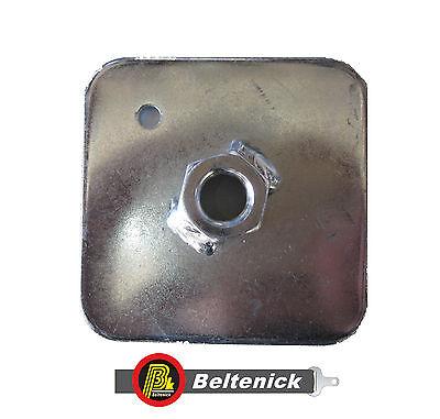 FIA Stahl Verstärkungsplatte Gurtplatte Gurtbefestigung 7/6x20 UNF Gegenplatte