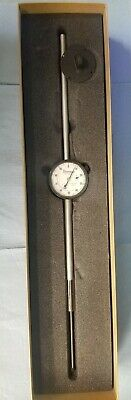 Beautiful Starrett 6.0 Range Dial Indicator 25-5041j .001 Resolution.