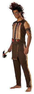Warrior Costumes For Men (Native American Indian Noble Warrior Chief Men Thanksgiving Adult)