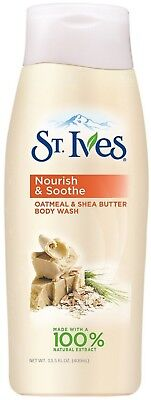 St. Ives Nourish & Soothe Oatmeal & Shea Butter Body Wash 13