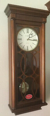 Nice HOWARD MILLER WALL CLOCK WITH HARMONIC TRIPLE CHIMES Kathryn  625-525