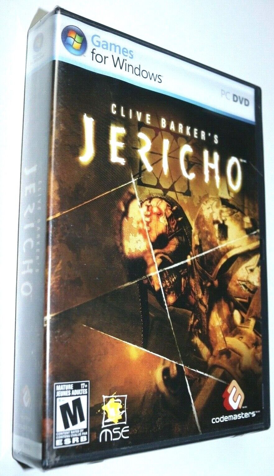 Computer Games - Clive Barker's Jericho PC Computer Game DVD-Rom NEW Sealed