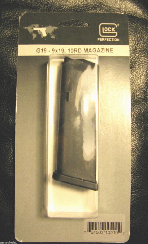 Glock 19 Factory Original 10 Round Magazine