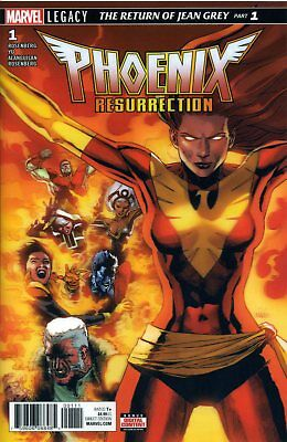 PHOENIX RESURRECTION RETURN JEAN GREY #1 (OF 5) LENTICULAR / WACKELCOVER - D301