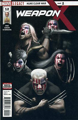 WEAPON X #12 LEG - contains a Marvel Stamp - MARVEL - US-COMIC - D605