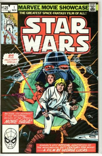 Star Wars Marvel Movie Showcase Comic Book Group No. 1 November 1982 Issue $1.25