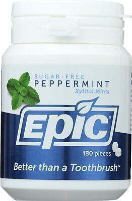 Epic Dental-Mints - Peppermint Xylitol Bottle, 1 ( 180 CT -