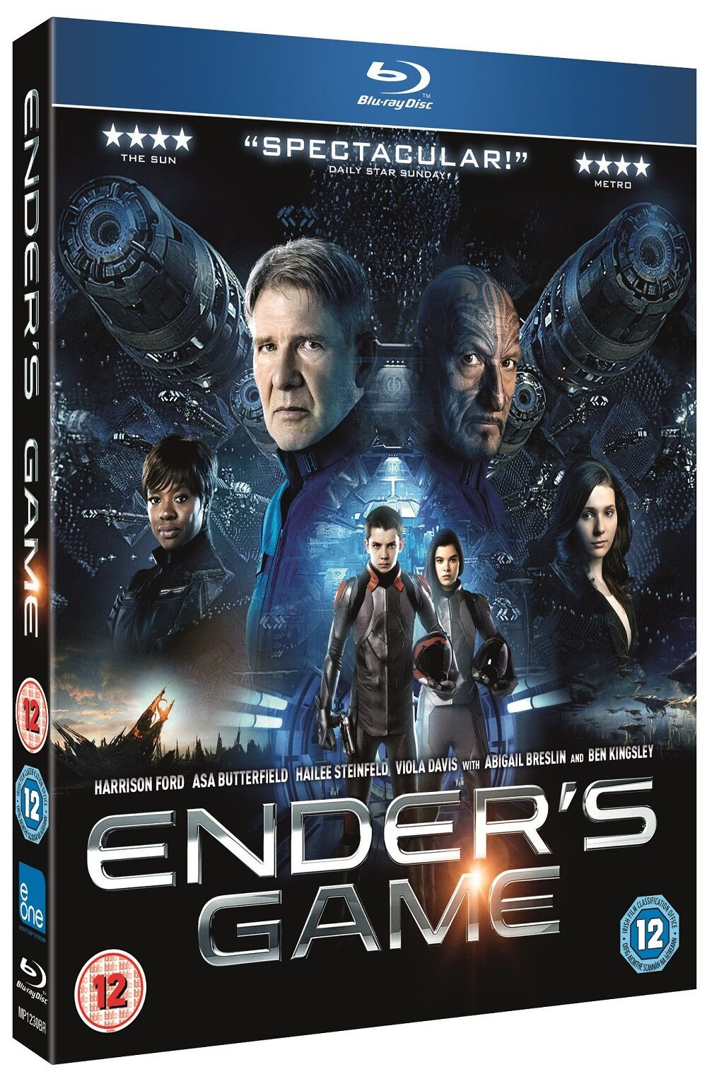 Ender's Game Blu Ray 5055744700162 | eBay